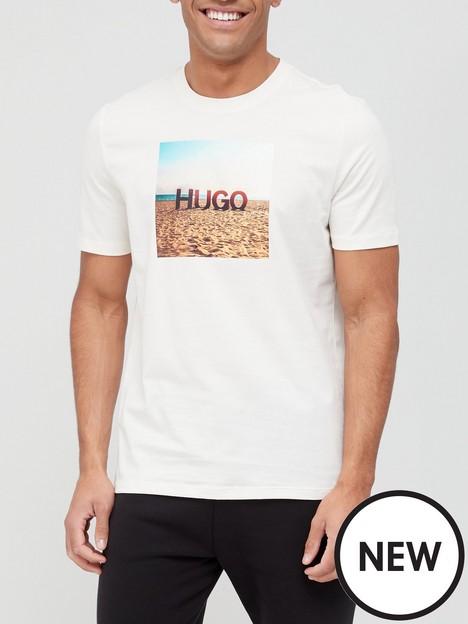 hugo-doldplay-logo-t-shirt-naturalwhite