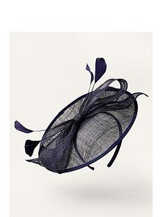 monsoon-bow-disc-fascinator-navy
