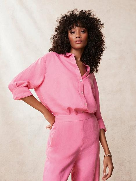 mint-velvet-linen-long-sleeve-shirt-pink