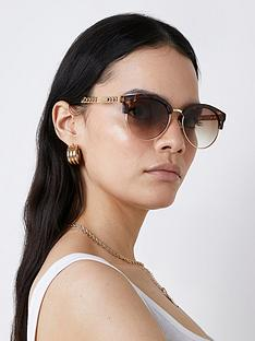 river-island-chain-arm-sunglasses-brown