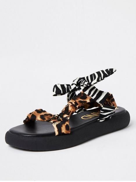 river-island-bow-sporty-sandal-black