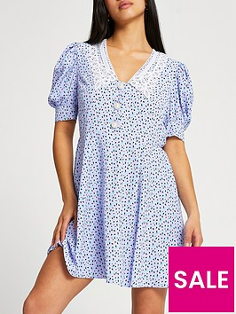 ri-petite-petite-collar-floral-mini-dress-blue