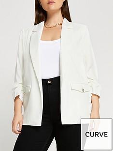 ri-plus-satin-blazer--white