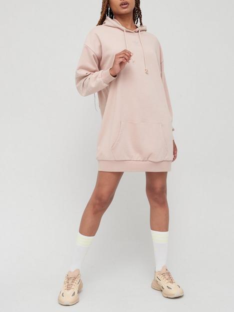 adidas-originals-early-2000s-hoodie-dress-beige