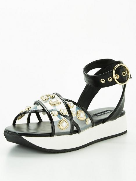 river-island-pearl-sandals-black