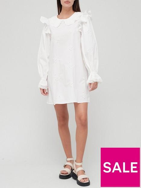 river-island-broderie-collar-smock-mini-dress-white
