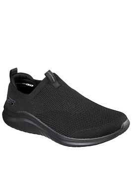 skechers-high-apex-skech-knit-slip-on-sneaker-w-air-cooled-memory-foam-blacknbsp