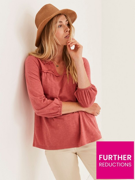 fatface-bryony-woven-jersey-mix-blouse--nbsppink