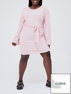 in-the-style-curve-in-the-style-curve-x-jac-jossanbsprib-belted-mini-dress-dusky-pink