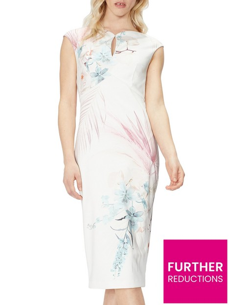 ted-baker-serendipity-printed-bodycon-dress-natural
