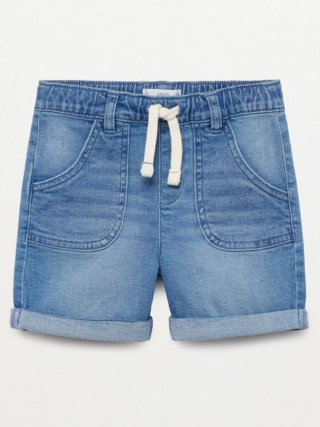 mango-baby-boy-denim-shorts