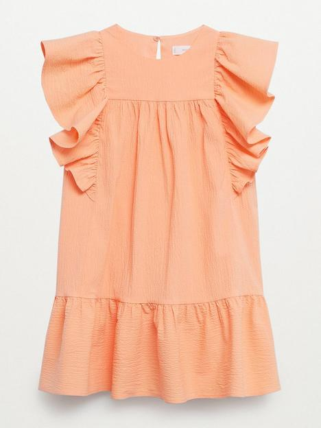 mango-girls-frill-drop-hem-dress