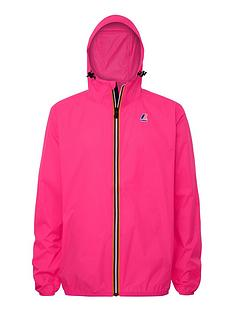 k-way-kids-claude-hooded-rain-jacket-fuchsia