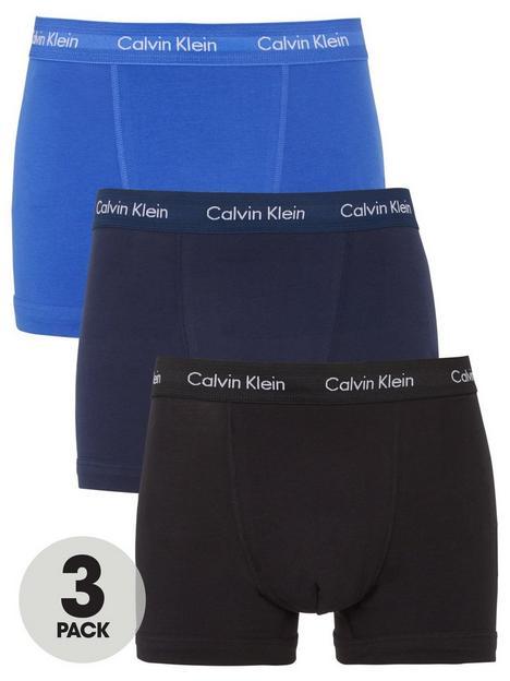 calvin-klein-core-3-pack-trunks-bluenavyblack
