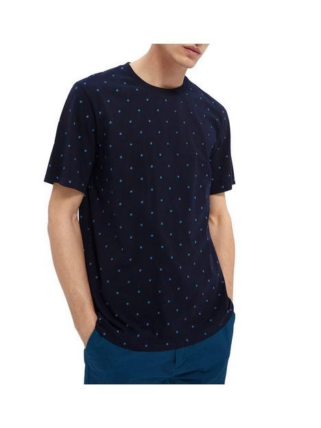 scotch-soda-scotch-soda-all-over-mini-print-t-shirt