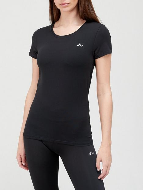only-play-training-t-shirt-black