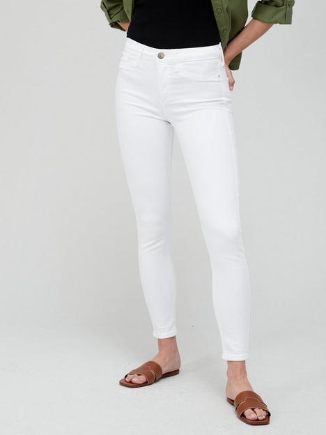river-island-molly-mid-rise-skinny-jeannbsp--white