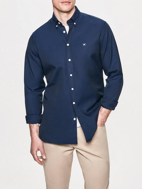 hackett-washed-oxford-shirt