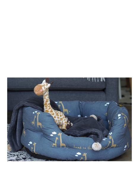 zoon-head-in-the-clouds-oval-pet-bed-large