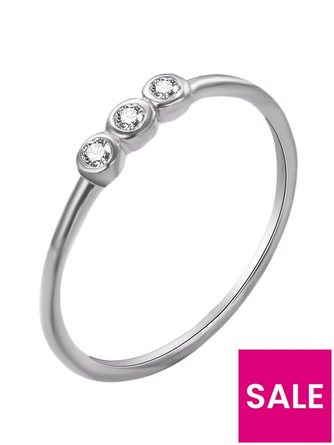 the-love-silver-collection-the-love-silver-collection-sterling-silver-trio-bezel-cz-ring