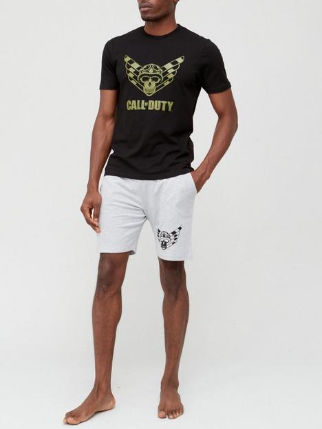 very-man-call-of-duty-shorty-pj-black