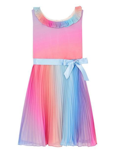 monsoon-girls-sew-rainbow-ombre-pleated-dress-multi