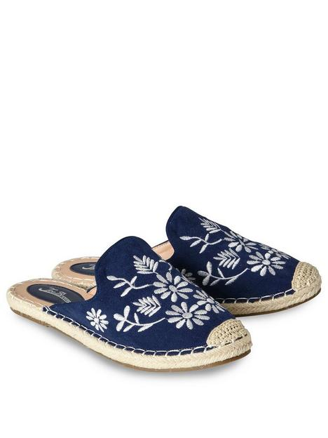 joe-browns-no-plans-embroidered-mules--nbspnavymulti