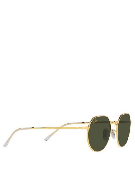 ray-ban-jack-round-metal-sunglasses-gold