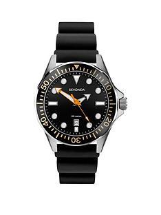 sekonda-sekonda-black-dial-black-silicone-strap-mens-watch