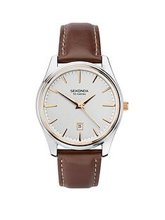 sekonda-date-dial-brown-strap-mens-watch