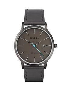 sekonda-sekonda-black-date-dial-blue-accents-black-strap-mens-watch