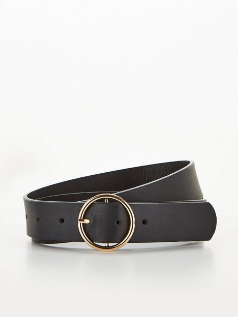 v-by-very-oscar-round-buckle-belt-black