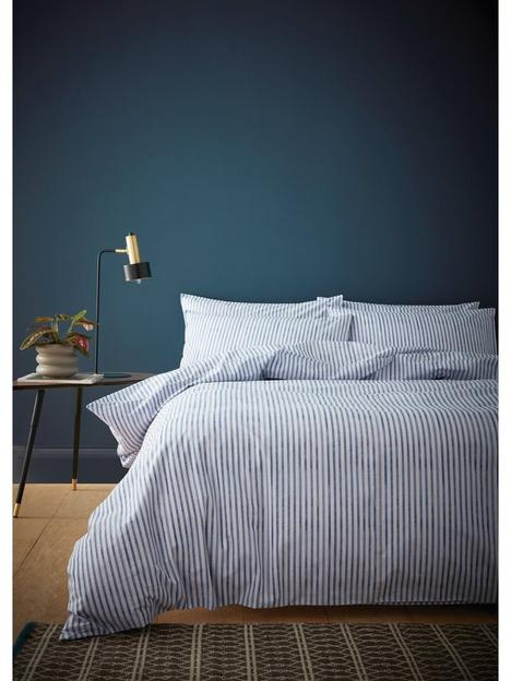 content-by-terence-conran-chelsea-textured-stripe-duvet-cover-set