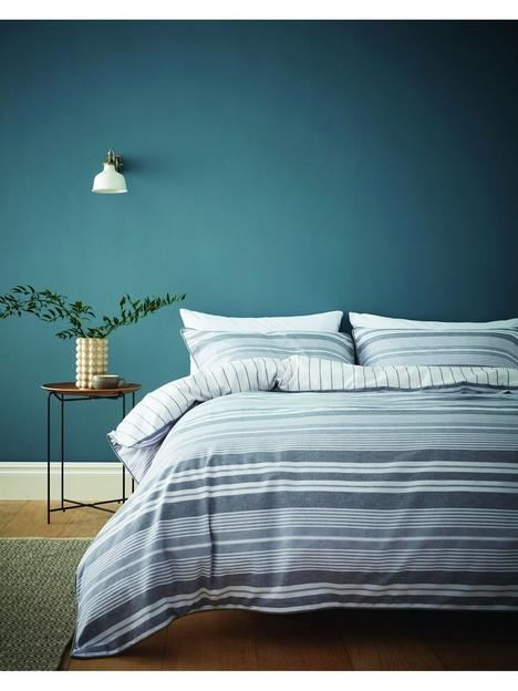 content-by-terence-conran-kingston-stripe-duvet-cover-set