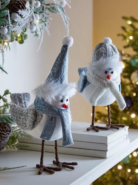 set-of-2-bluewhite-plush-robin-christmas-decorations