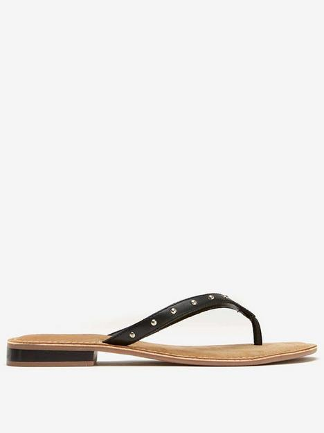 mint-velvet-leather-flip-flops-blacknbsp