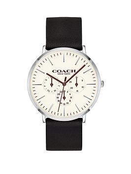 coach-white-multi-dial-black-strap-watch