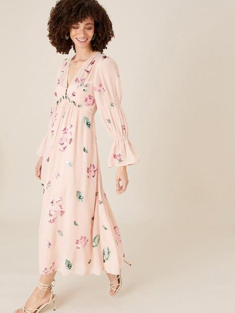monsoon-hayley-button-through-tea-dress