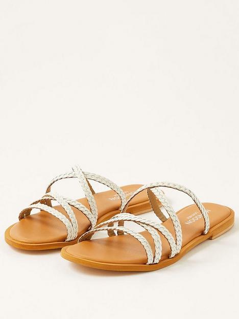 monsoon-pixie-plait-leather-slip-on-sandal-white