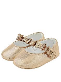 monsoon-baby-girls-savannah-butterfly-bootie-gold