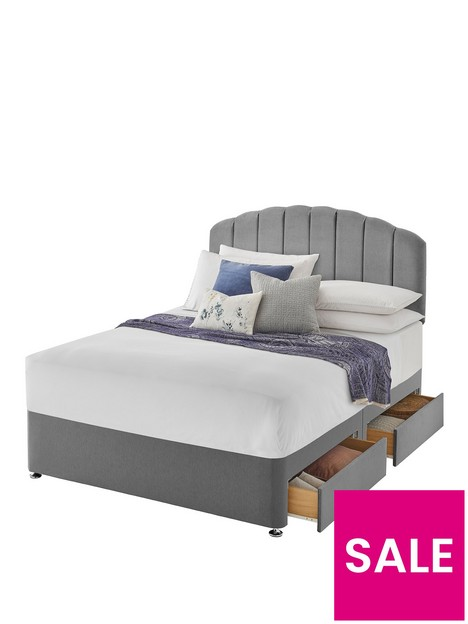 silentnight-fabric-divan-bed-with-storage-options-base-only-ndash-headboard-not-included