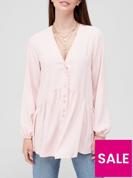 v-by-very-longline-button-detail-tunic-blush
