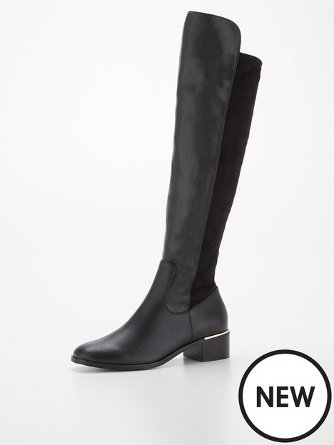 v-by-very-low-heel-stretch-back-over-the-knee-boot-black