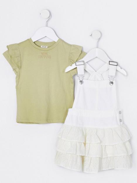 river-island-mini-mini-girls-denim-frill-pinny-and-tshirt-white