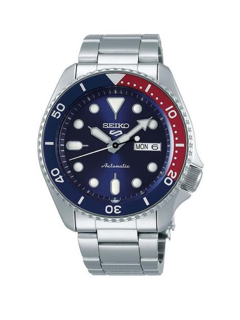 seiko-seiko-sport-blue-date-dial-bluered-bezel-stainless-steel-bracelet-watch