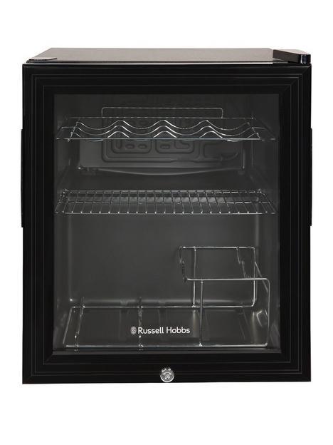 russell-hobbs-rhgwc1b-c-lck-beer-wine-drinks-mini-fridge-with-lock--black