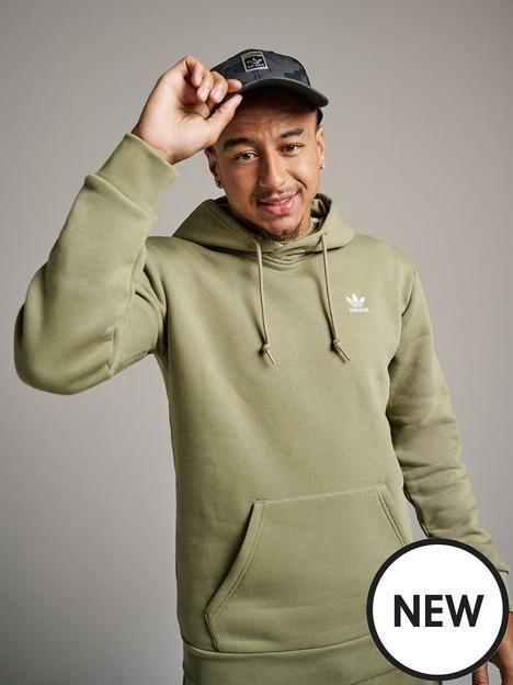 adidas-originals-essential-hoodie-khaki