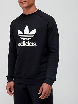 adidas-originals-trefoil-crew-sweat-top-blackwhite