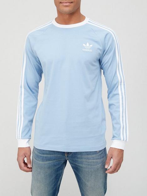 adidas-originals-3-stripe-long-sleeve-t-shirt-blue