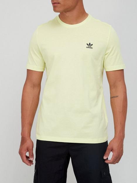 adidas-originals-essential-t-shirt-yellow
